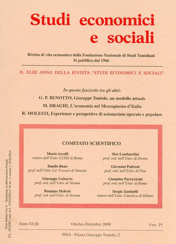 Studi Economici e Sociali